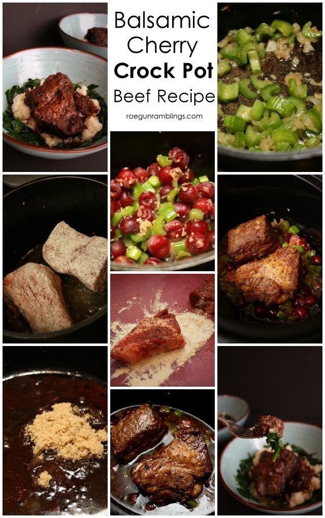balsamic cherry beef roast crock pot recipe so so good - Rae Gun Ramblings