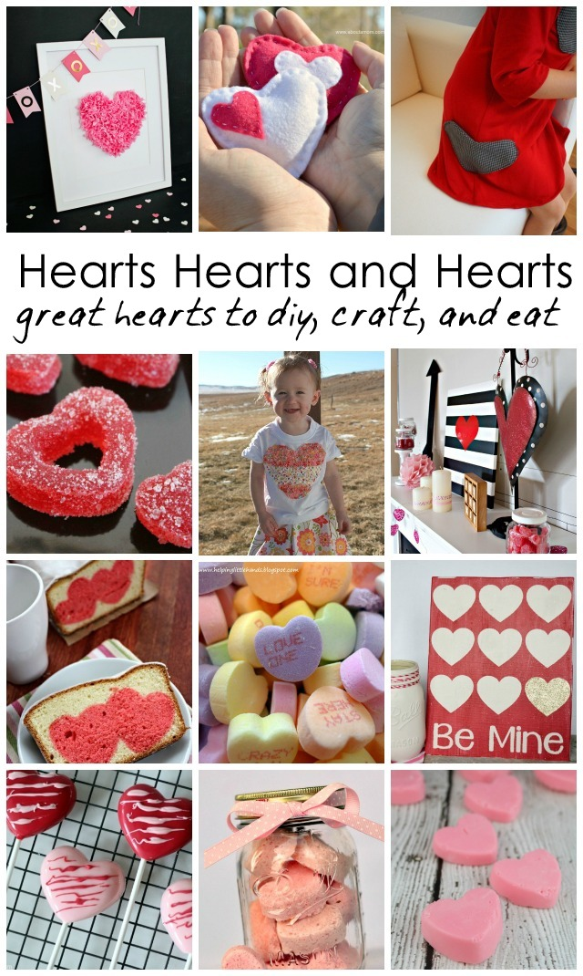 Heart crafts recipes and kid activities - Rae Gun Ramblings