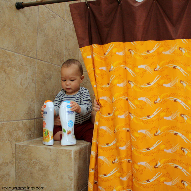 DIY Shower Curtain in 30 minutes