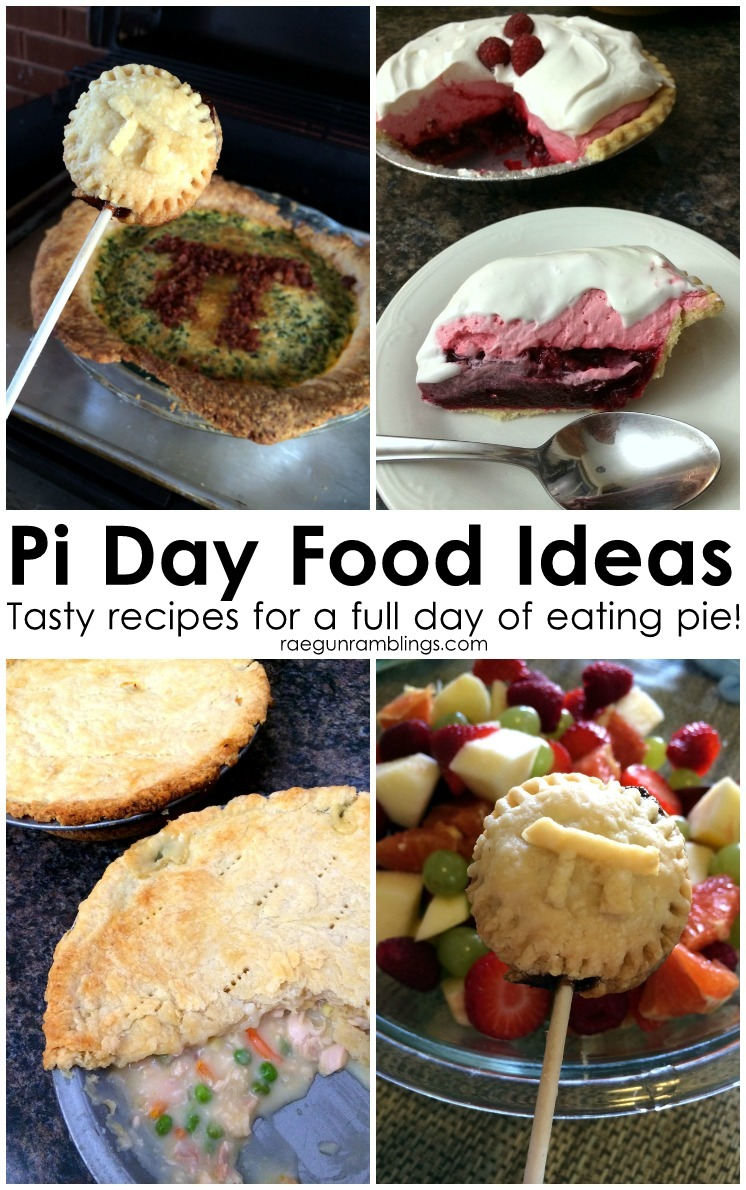 Pi Day Menu a full day's worth of delicious pies