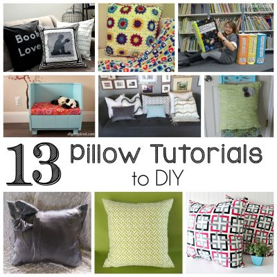 Block Party: DIY Pillow Tutorials Features