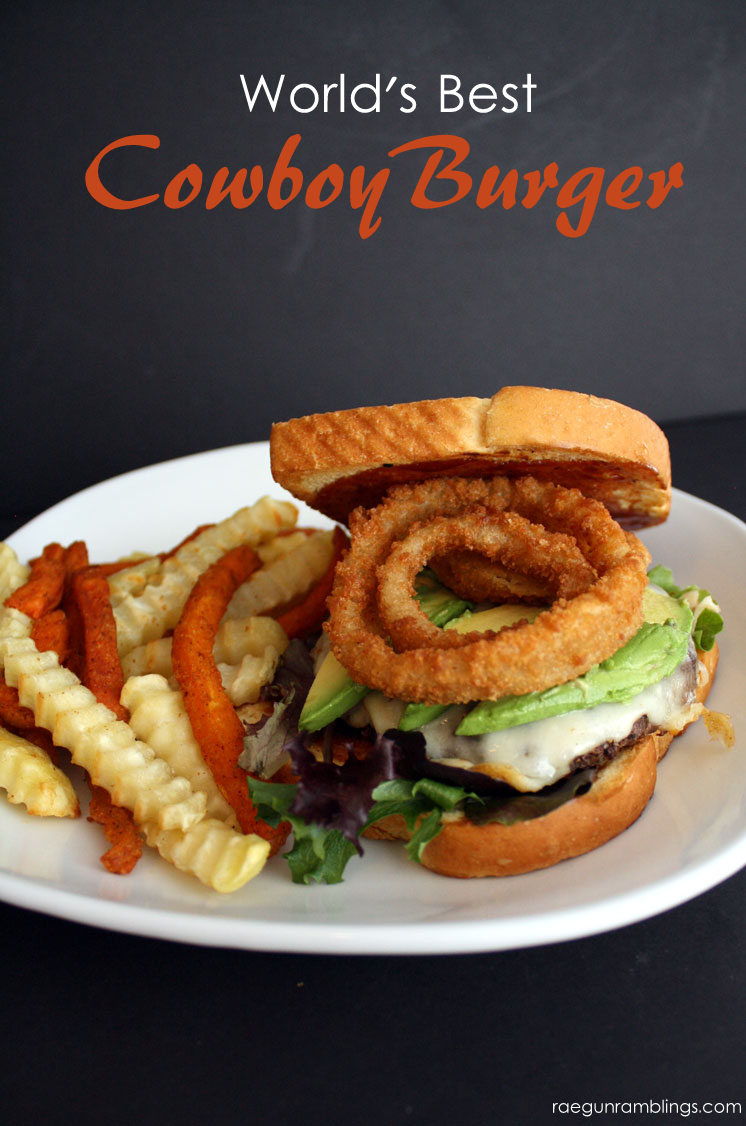 One of my favorite easy hamburger recipes. Cowboy burgers are the best!