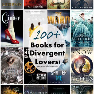 100+ Books for Divergent Fans