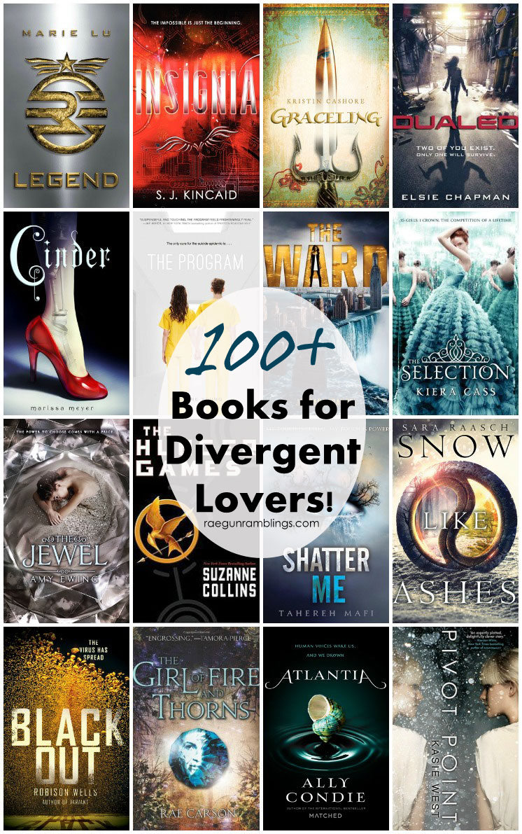 Divergent read a likes. If you liked Divergent you'll love these.