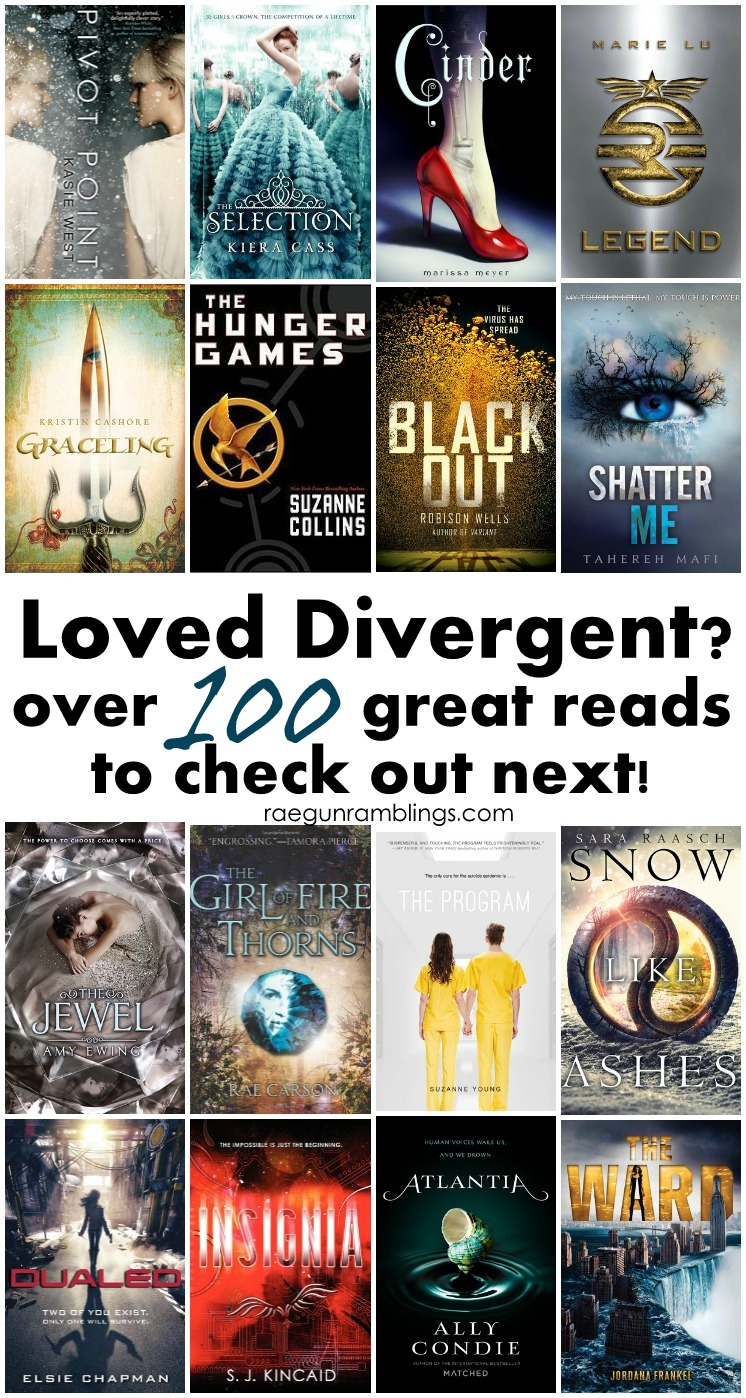 books divergent read ya teens teen fans novels reading fantasy series lists reads awesome young adults fiction dystopian raegunramblings reader