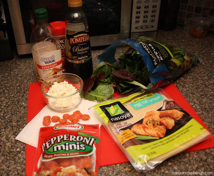 Feta Pepperoni Salad