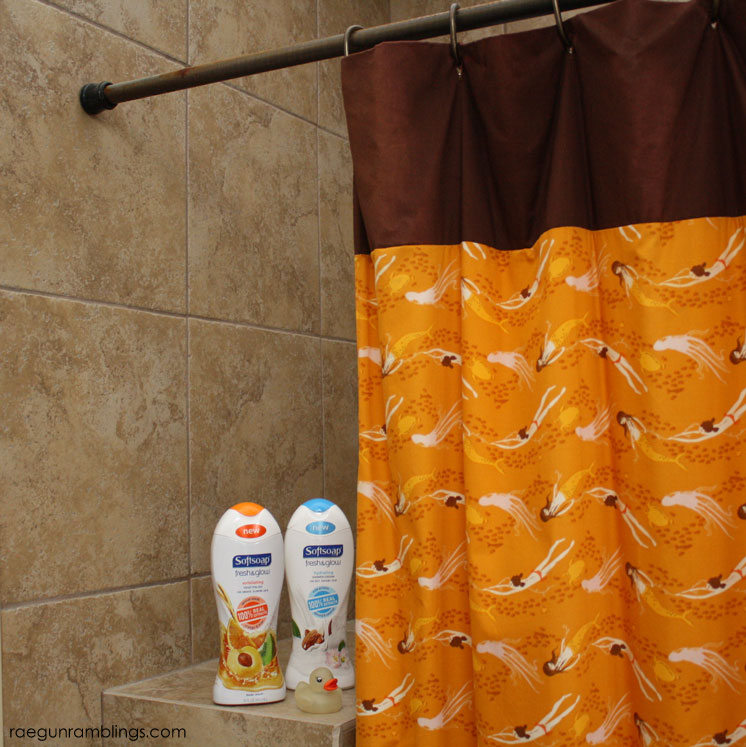 perfect for budget home owners and new sewers 30 minute diy shower curtain