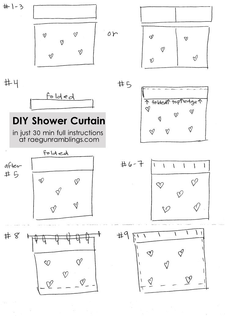 30 Minute Shower Curtain Tutorial With Softsoap Fresh And Glow Rae