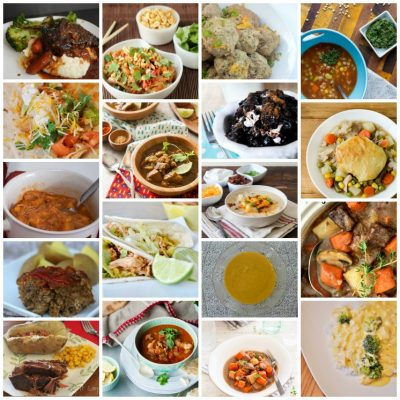 More Slow Cooker Recipes Features
