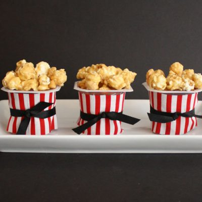 Movie Night Popcorn Pudding Cups