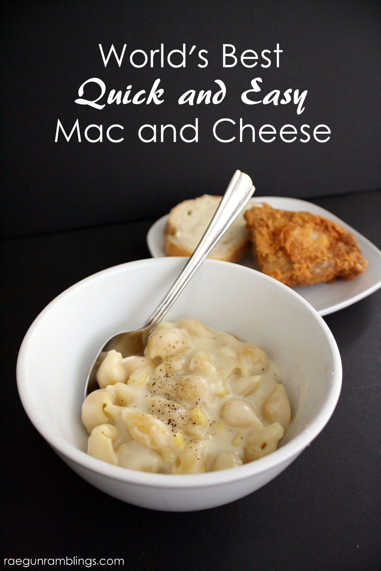 Are you ready for the world's best and super easy mac and cheese ...