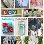DIY Spring Decor ideas and tutorials