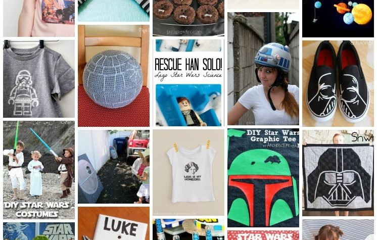 20+ great Star Wars crafts, DIYs, party ideas and more. May the 4th!