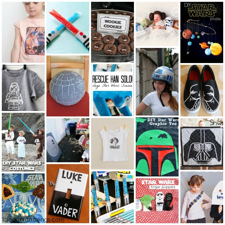 20 Great Star Wars Crafts DIYs Party Ideas And More May The