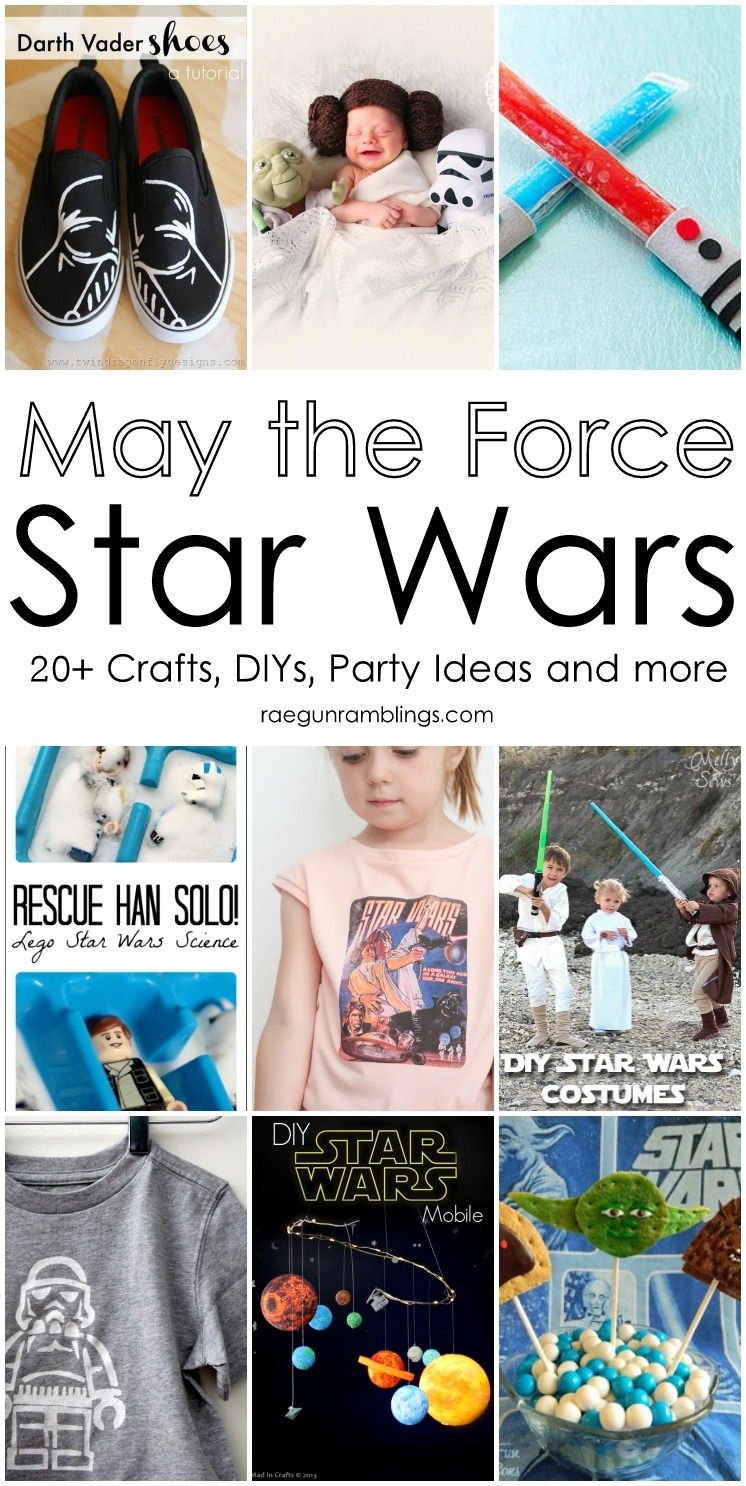 So many awesome Star Wars party ideas, crafts, recipes, and other free DIY tutorials