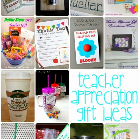 DIY Teacher Appreciation Gift Ideas and Crafts