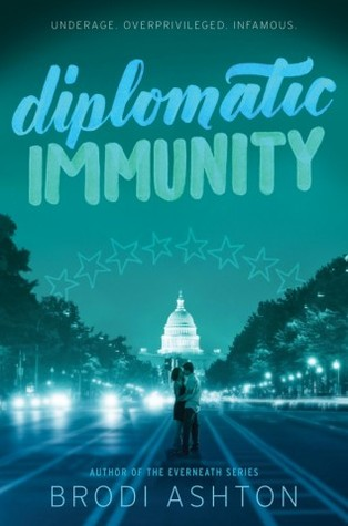 diplomatic immunity book by brodi ashton
