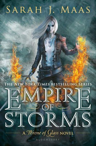 Empire of Storms by Sarah J. Maas Throne of Glass series