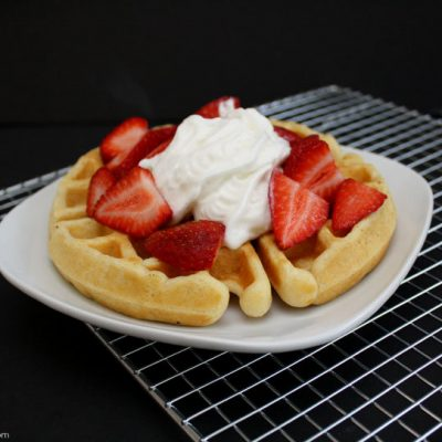 The Best Quick Buttermilk Waffle Recipe