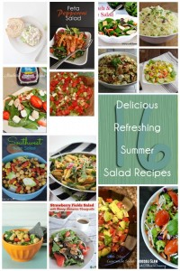 Delicious-Summer-Salad-Recipes healthy lunch and dinner ideas