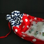 Super cute and easy I spy activity bag. Great Summer idea with the kids.