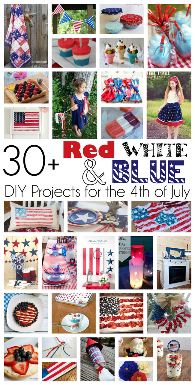 great diy ideas, crafts, recipes and more. Great for fourth of july and other patriotic holidays