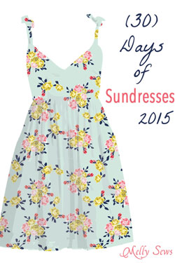30 Days of Sundresses 2015 tons of sundress tutorials
