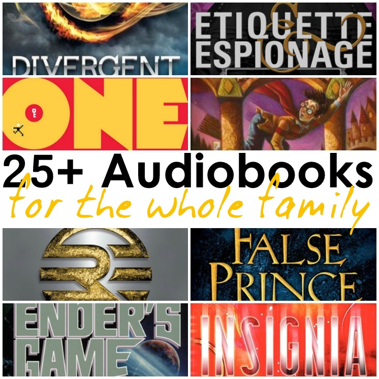 Great audiobooks for the whole family