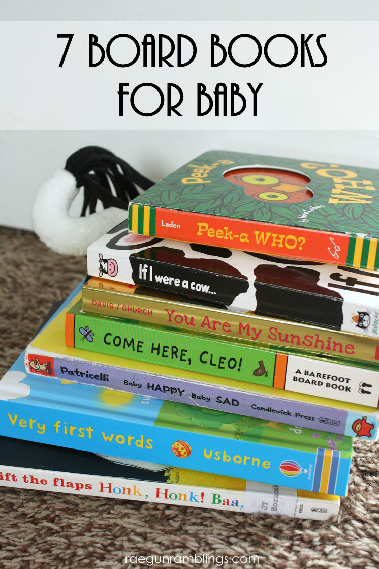 great board books for baby showers or first birthday parties