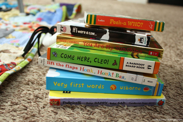 Great list of board books for babies. Perfect for baby shower gifts or 1st birthday parties