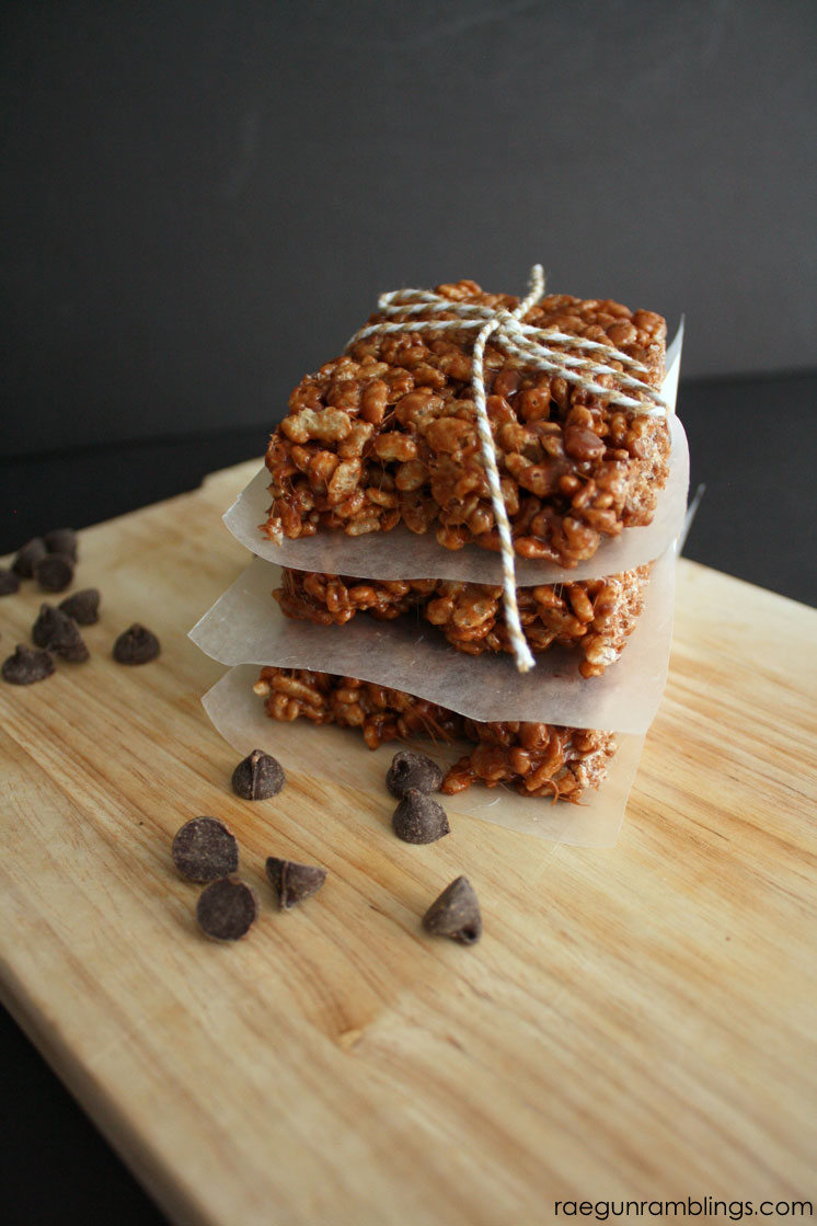 Hands down the BEST way to make rice krispie treats. We won't use any other recipe from now on.