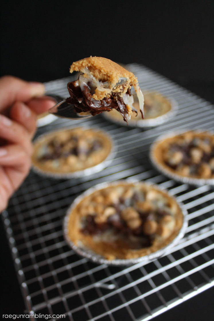 Super fast and easy chocolate peanut butter coconut pies recipe. Done in 15 minutes.