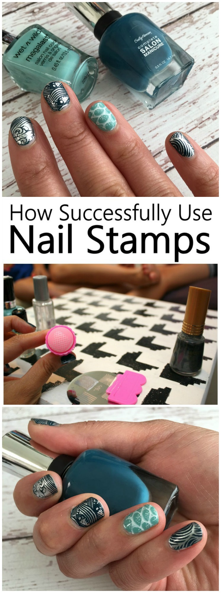 Step by step guide to nail stamping art and a huge list of resources for best products and supplies. Great beauty tutorial.