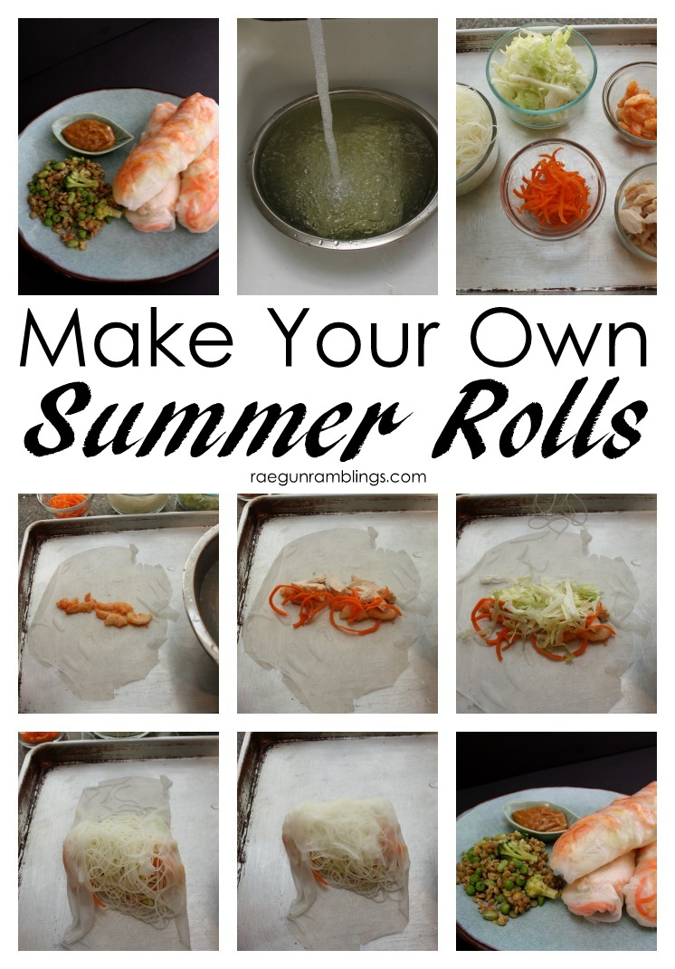 How to make fresh Vietnamese Summer Rolls. Great recipes and healthy meal idea.