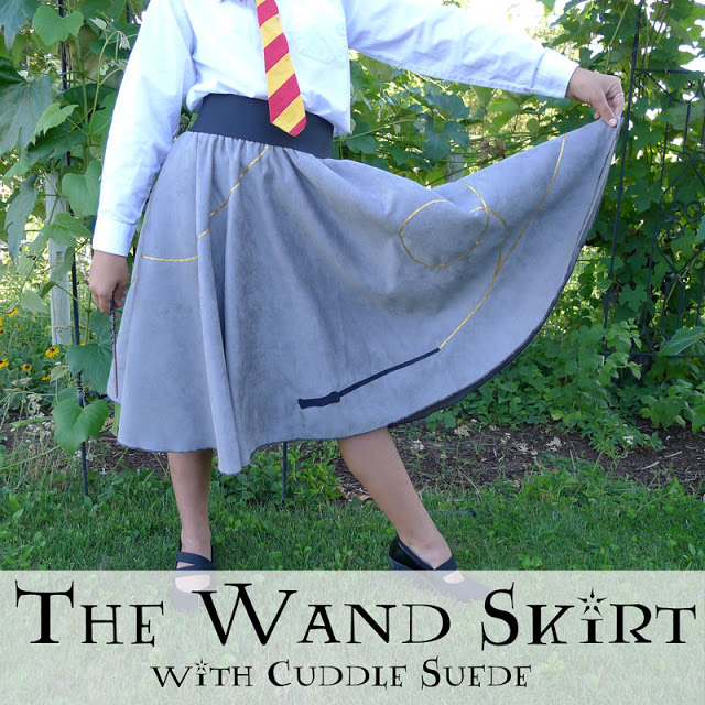 Amazing Harry Potter Wand Skirt Tutorial