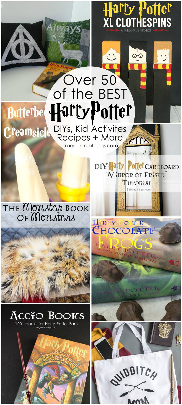 Over 50 awesome harry potter projects rae gun ramblings hands down the best harry potter crafts diys tutorials recipes and more solutioingenieria Image collections