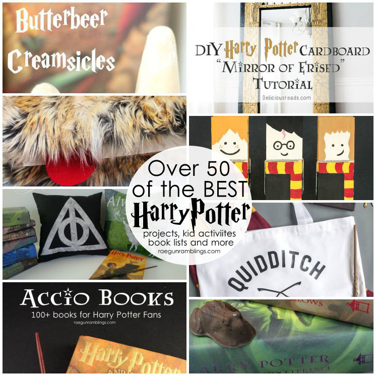 Hands down the best Harry Potter crafts, diys, tutorials, recipes and more
