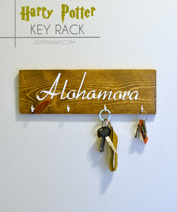 Alohomora HArry potter keyrack