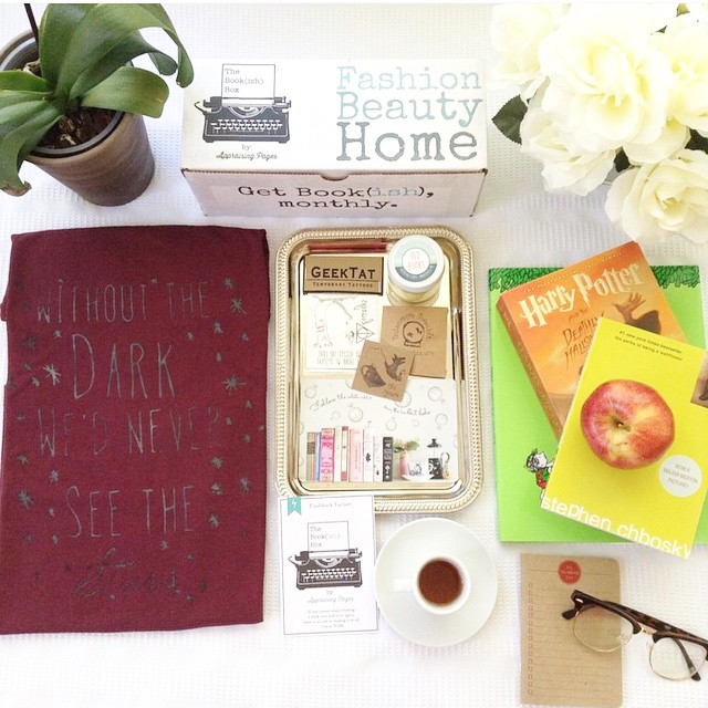 Appraising Pages bookish box. Awesome reader subscription box. Fun gift idea for book lovers
