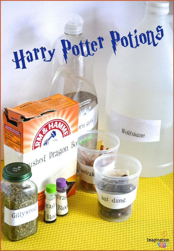 These DIY-Harry-Potter-Potions are so fun!