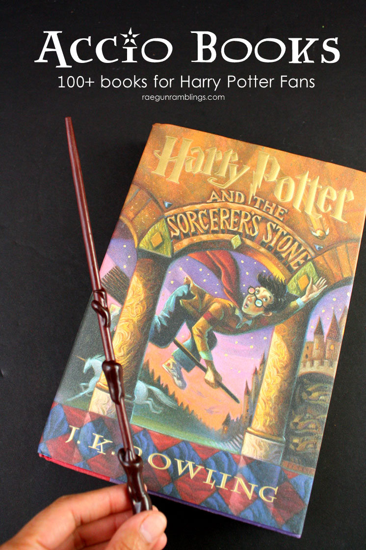 So many great books for Harry Potter fans. I've read a ton of these and totally agree with this reading list.