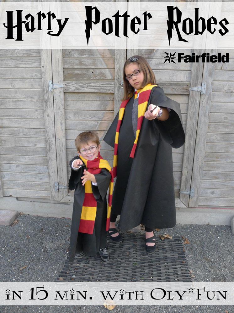 Harry-Potter-Quick Robe Tutorial