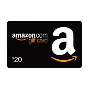 amazon gift card 20