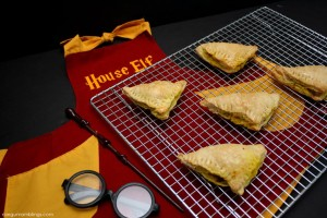 Super yummy curry puff recipe great for Harry Potter parties