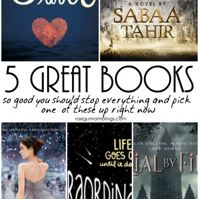 5 Great Books to Read Right Now
