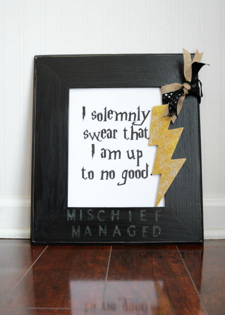 Harry Potter Art. I solemnly swear that I am up to no good