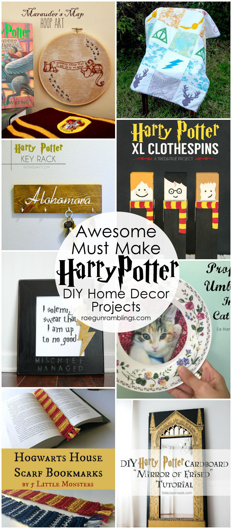 Harry Potter Home Decor Crafts