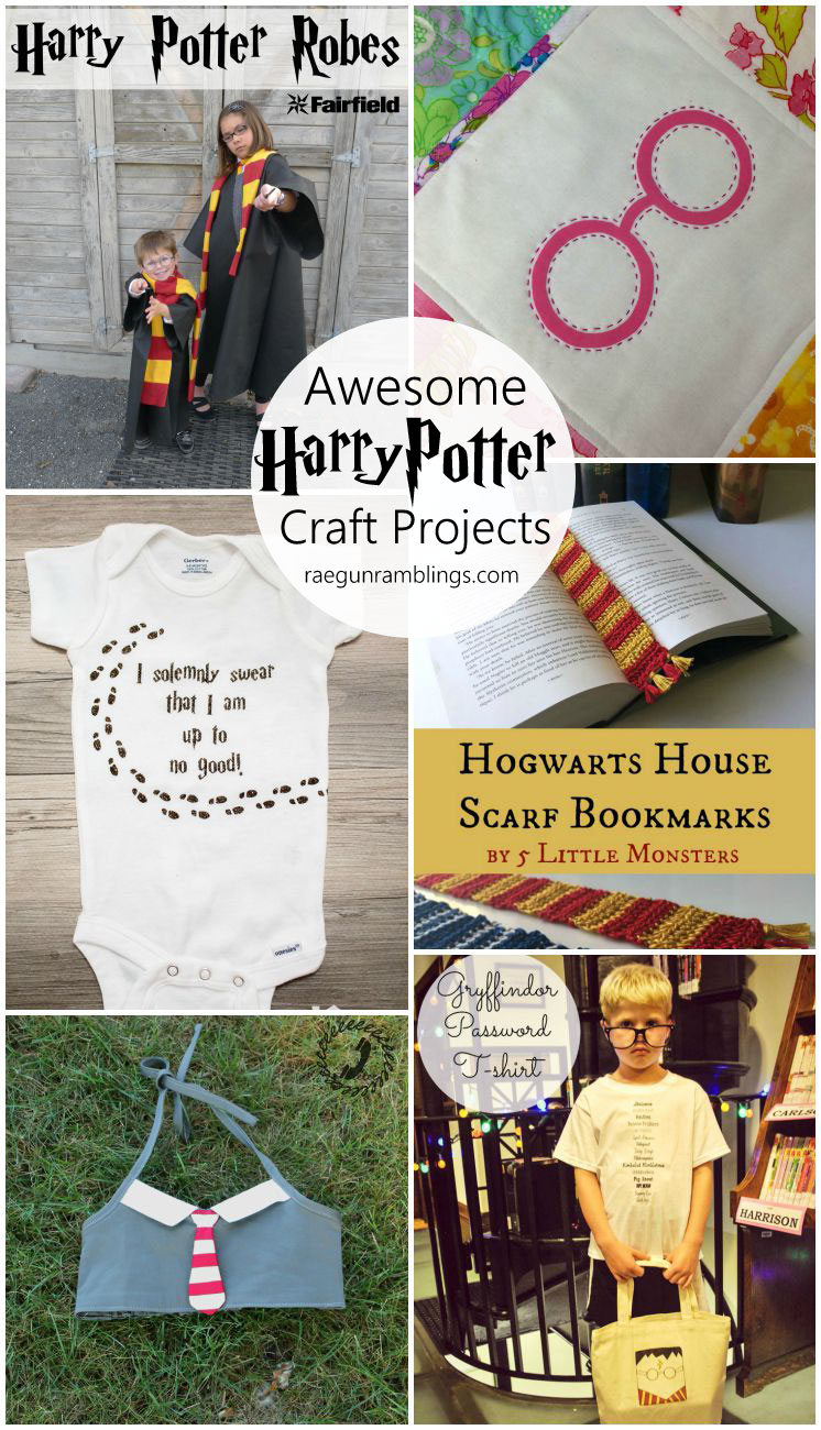Awesome harry potter crafts
