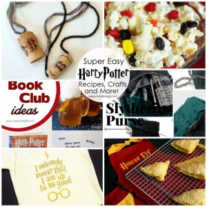 Easy and fun Harry Potter recipes, crafts and more