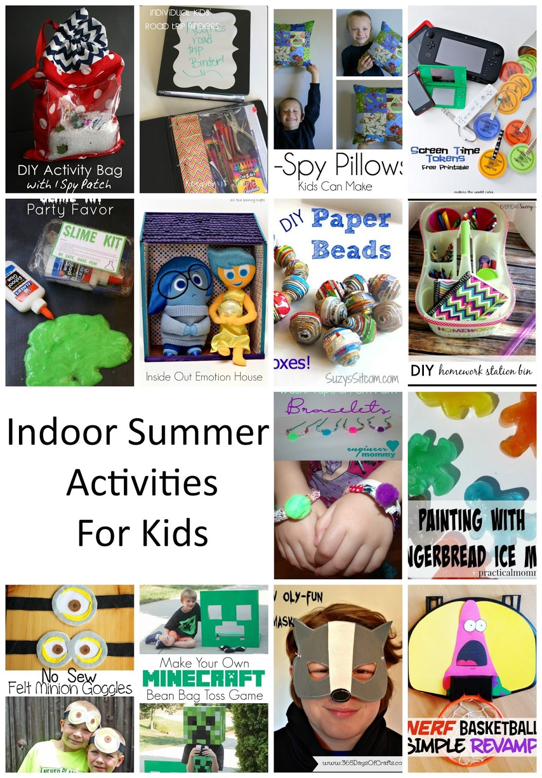 Indoor Summer Kid Activities Rae Gun Ramblings